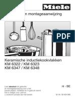 Miele Inductiekookplaat KM6322