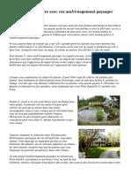 Concevoir votre terre avec ces aménagement paysager conseils
