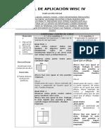 Manual de Aplicación Wisc IV