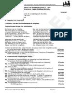 limba materna germana variant examen