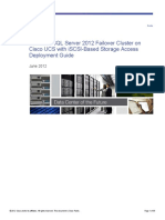 Cisco MS SQL Server 2012 Failover Cluster on UCS Guide_c07-707705_1