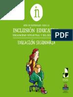 295855898 Inclusion Educativa Secundaria