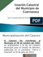 Modernizacion Catastral Del Mun de Cuernavaca