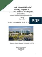 Bethesda Podiatry Residency Manual July 2011 Kk