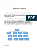 Happy Valley Police Department Case Study