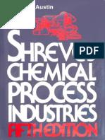 Chemical Process Industries 5th Ed - Shreve's.pdf