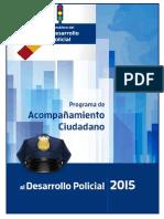 Semáforo Nacional Policial de Causa en Común