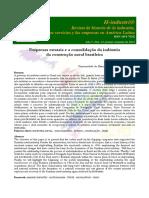 EMPRESAS ESTATAIS E A CONSOLIDAÇÃO DA INDÚSTRIA DA CONSTRUÇÃO NAVAL BRASILEIRA ALCIDES GOULARTI FILHO