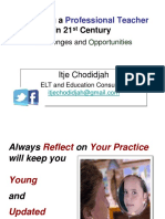 Becoming a Professional Teacher in 21st Century_last Day_handout