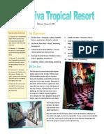 melina ebtessam resort newsletter