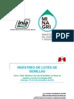 Muestreo de Lote de Semillas (Chiclayo 2015)