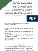 Relacion Victima-Victimario Victimologia