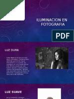 Iluminacion en Fotografia