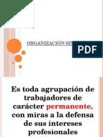 organizacion sindical