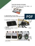 Materiales Para Tablero Electronico de Pruebas