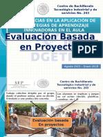 Evaluacion Basada en Proyectos-cbtis 243