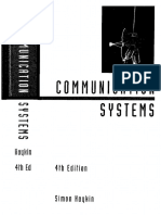 Communication Systems 4Th Edition Simon Haykin