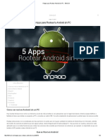 5 Apps Para Rootear Android Sin PC - Bitmóvil