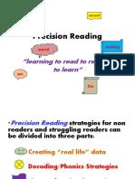 Precision Reading