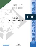 Technology Status Coal Liquefaction