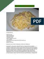 Fetuccine a Carbonara
