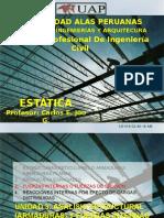 Estatica Clase 10 Fuerzas Internas y Reacciones Uap