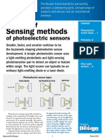 Basics of Photoelectric Sensors