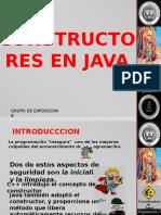 Constructores en Java