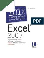 101 Trucs Excel 2007