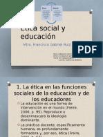 Ética Social y Educación