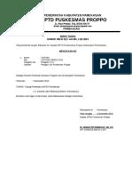 Surat - Surat Penting Pkm Proppo 2015