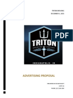 triton brewery proposal website