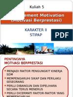 Kuliah 5-Achievement Motivation