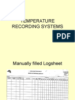 Temperature Recording Systems New 16 Nov 2012
