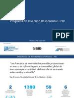 7Presentacion Del Programa de Inversion Responsable. PIR