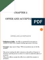 Mod 1. 2. Offer & Acceptance