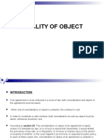 Mod 1. 6 - Legality of Object