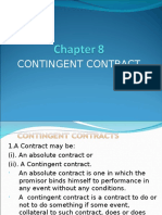 Mod 1. 8 Contingent Contract