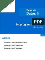 Bd 2 l Subprogram As