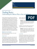 Trading 101 Basics