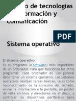 Tics sistemas operativos