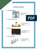 Factores de Ansiedad