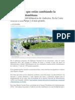 Los Puentes Que Están Cambiando La Geografía Colombiana