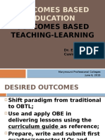 Outcomes Based Educn Revised 2015