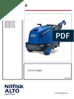 Alto Nilfisk Neptune 4-50 FA Parts Catalogue