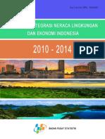 Sistem Terintegrasi Neraca Lingkungan Dan Ekonomi Indonesia 2015