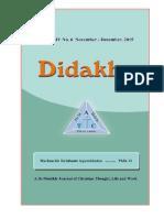 Didakhe - November_December, 2015
