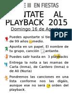 PAYBALCK LISTADO