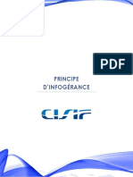 CISIF - PRINCIPE D'INFOGERANCE