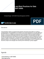Best Practice for Data Modeling with HANA.pdf